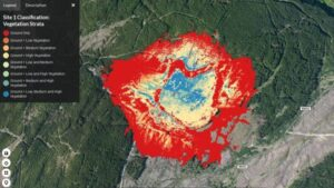 map of Lidar Drones Protect Scottish Forests
