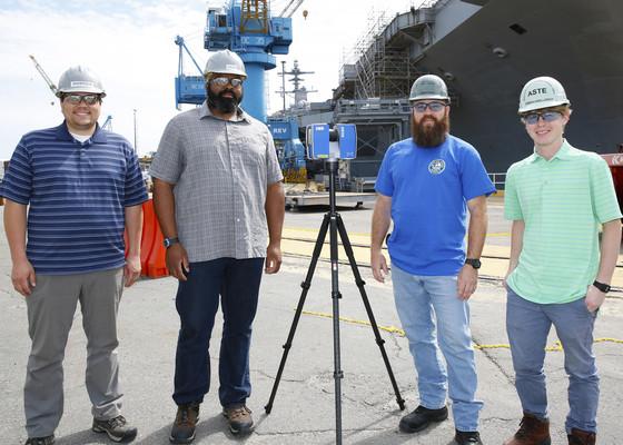 Image of Norfolk Naval Shipyard Goes 3D