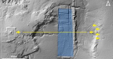 Map of Lidar Used to Understand Design of Lost City