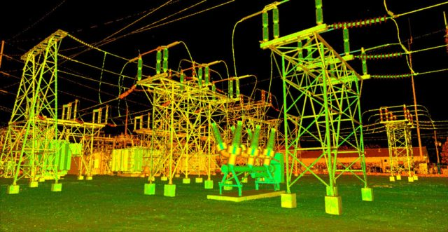 Powerstation for Lidar Inspections Improve Safety