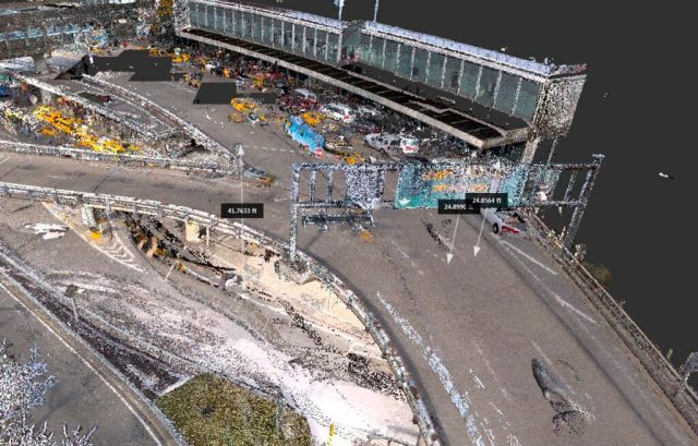 point cloud 3D Laser Scanning Least Disruptive to Project Schedule