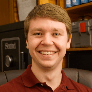 headshot of Nathan Eick, Geospatial Specialist