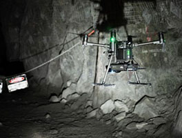 image of Mine Safety Supported with Lidar Drone