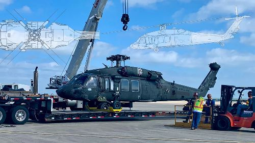 image of 3D Manufacturing Parts for Blackhawk