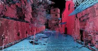 Point cloud of Favelas 4D Reveals Urban Chaos
