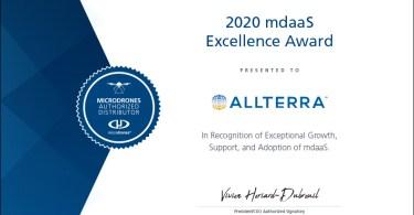 "image Microdrones"" Drone Distributor Awards"