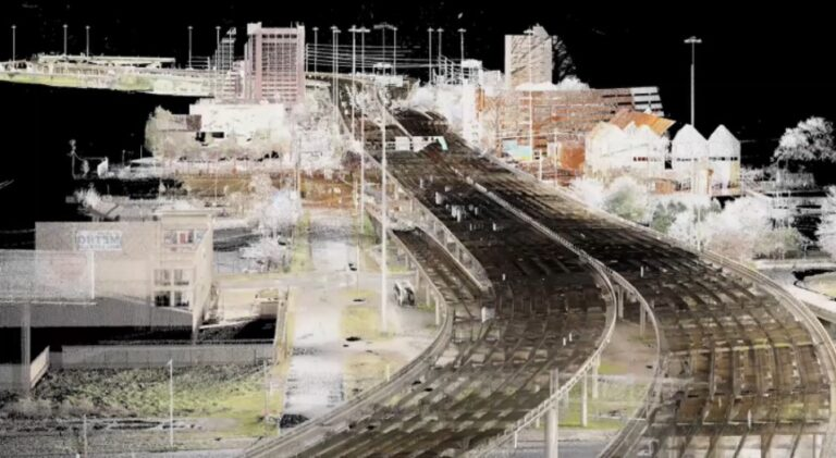 Point Cloud of First Augmented Reality Vehicle Display