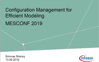 Infineon Best Practices – Modelmanagement with LemonTree
