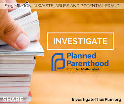 Profit no matter what ADF Planned Parenthood