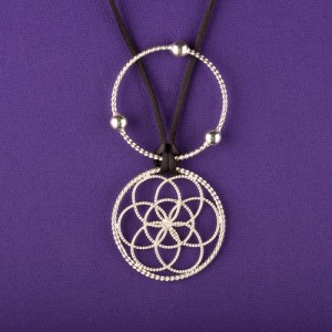1/4 LOST CUBIT LOTUS PENDANT