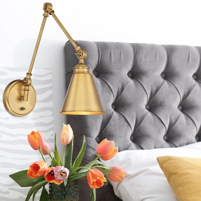 bedroom lighting ideas wall sconces at