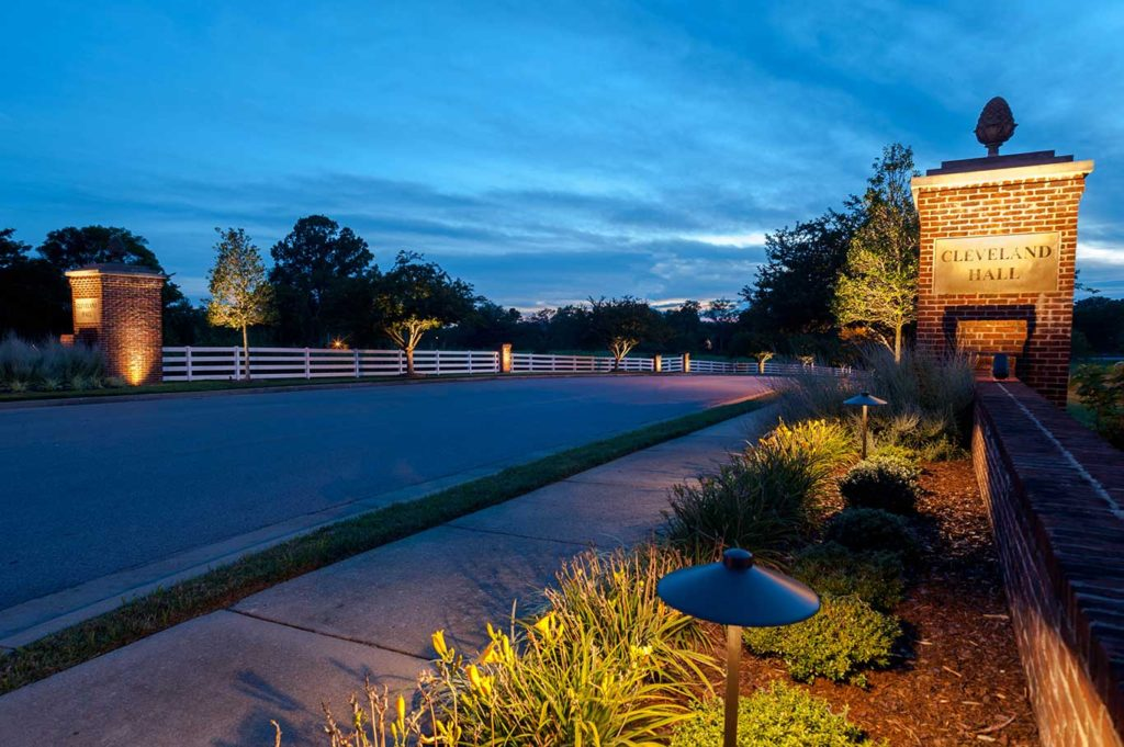 professional outdoor lighting designer
