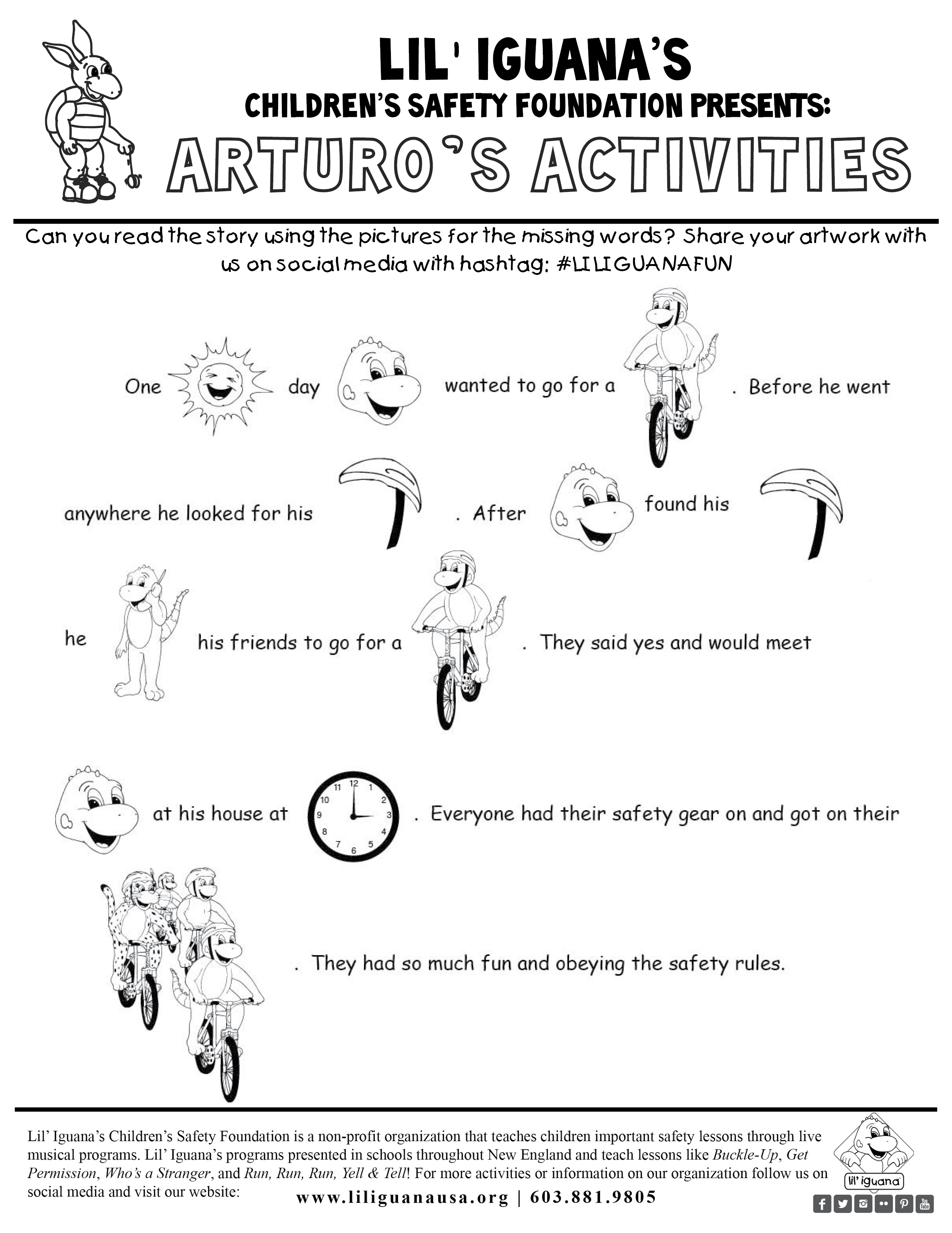 Arturo S Activities Picture Story Puzzle