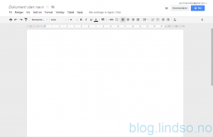 google drive nytt dokument