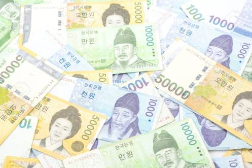 How to count in Korean: won the currency of Korea