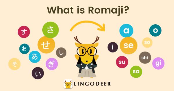 japanisch lernen what is romaji