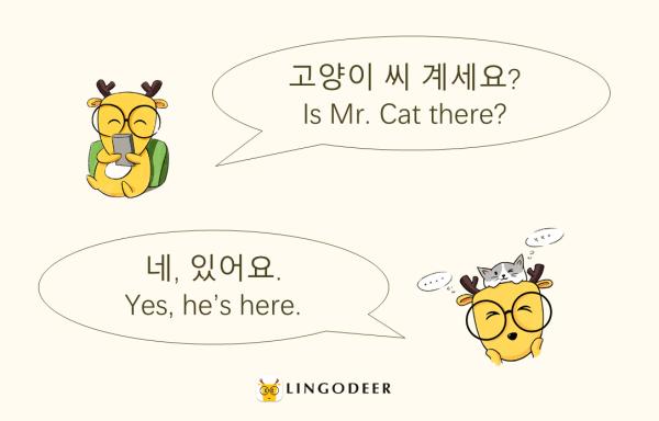 Korean honorifics: 계시다 vs. 있다