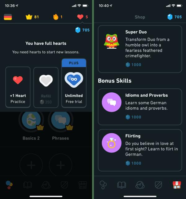 Duolingo German Review Plus