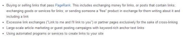 Link schemes Webmaster Tools Help