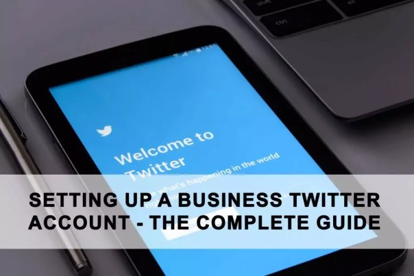 how to set up a business twitter account
