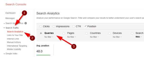 Spot featured snippets on google search console2