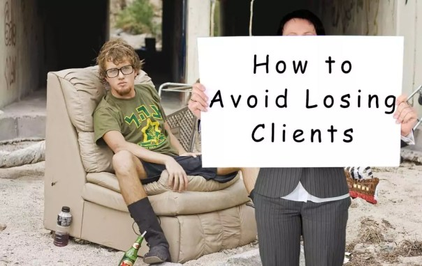 Losing Clients