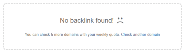 no backlinks found
