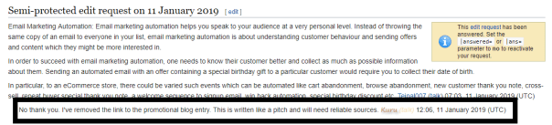 Wikipedia edit