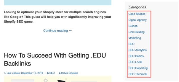 Cómo obtener backlinks .edu