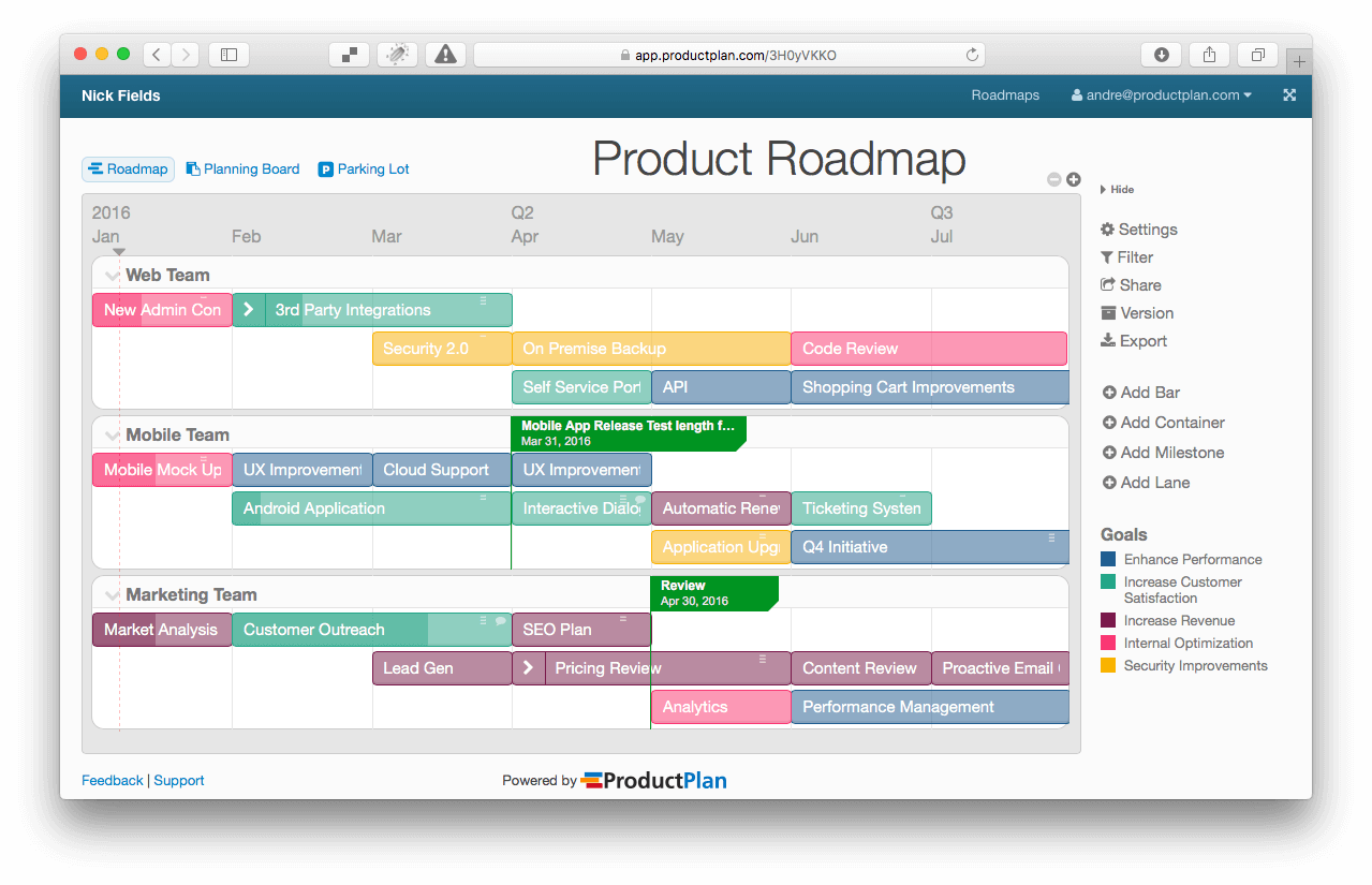 How To Build A Stellar Product Roadmap