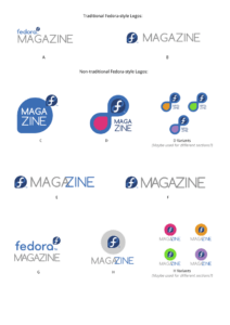 Fedora Logo Ideas Draft 1