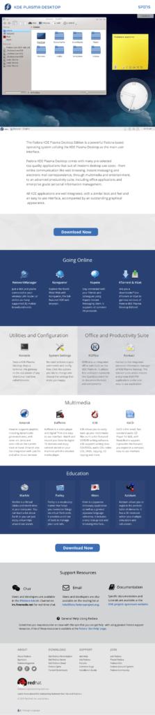 Desktop spin details page
