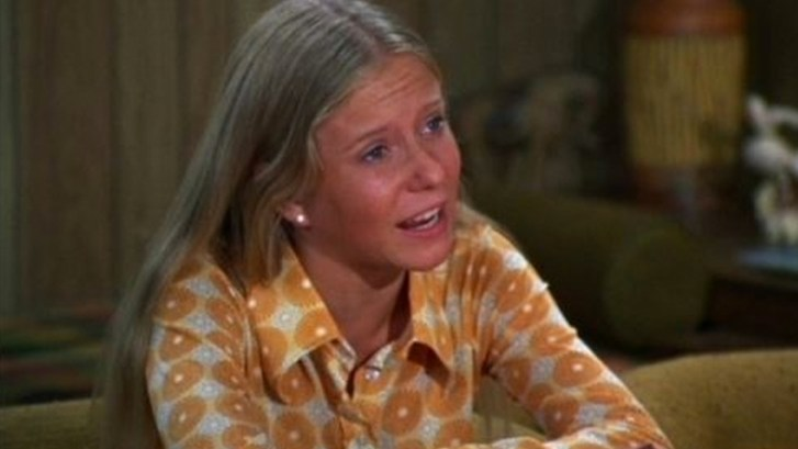 An image of Jan from the Brady Bunch