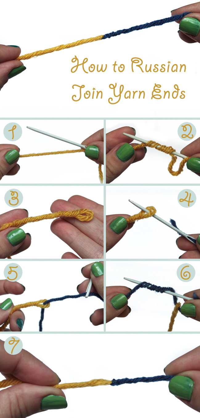 How to Russian Join Yarn Ends in 7 Easy Steps