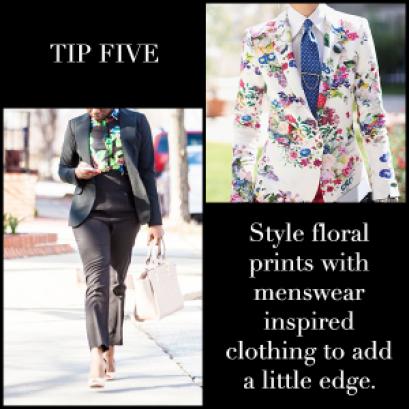 Floral Prints Tip Five