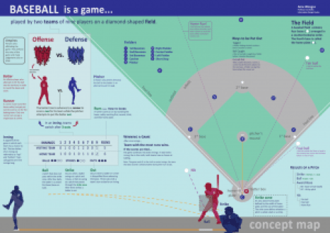 Basics of Baseball Infographic