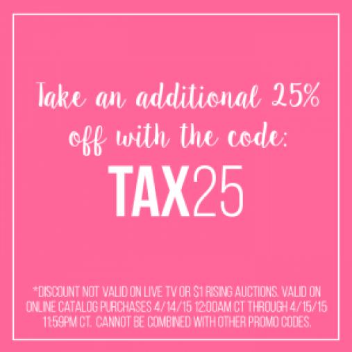 Tax Discount Code