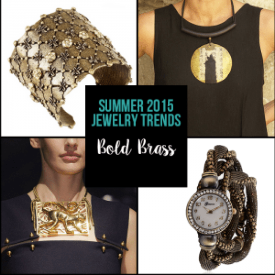 Top Summer Trends - Bold Brass