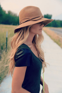 21 Secrets to Summer Style - Floppy Hat