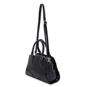 Look of the Week - Interview - J Francis Black Leatherette Handbag