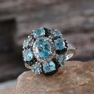 Rare and Exotic Gemstones - Madagascar Apatite Ring
