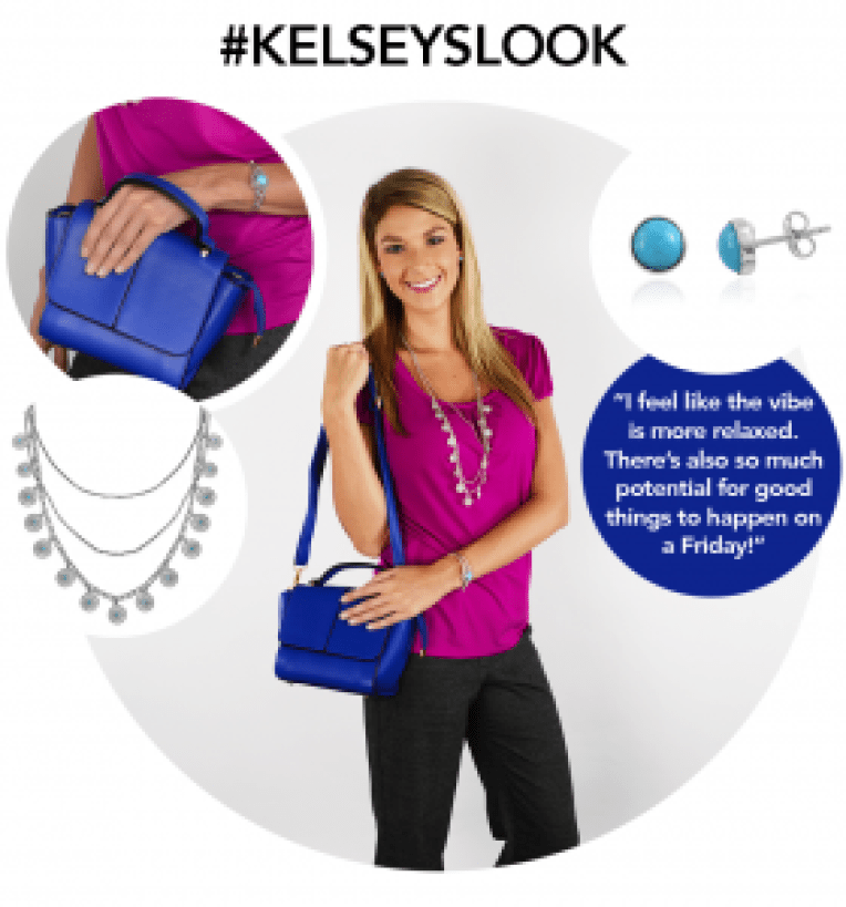 Look of the Week - Casual Friday at Work - Kelsey