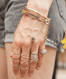 LC Fall Fashion Week - Mixing Metals - No Limits