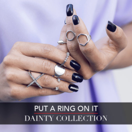 LC Fall Fashion Week - Put A Ring On It - Dainty Collection