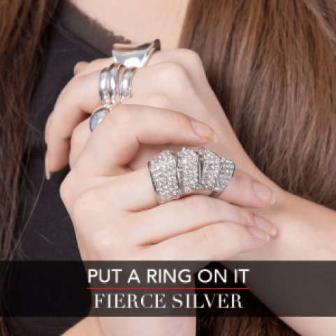 LC Fall Fashion Week - Put A Ring On It - Fierce Silver