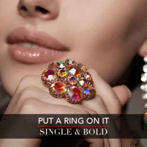 LC Fall Fashion Week - Put A Ring On It - Single and Bold