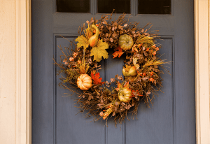 Spruce up your home for Fall - Fall Wreath