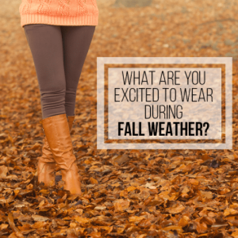Transitioning Your Wardrobe for Fall - Question