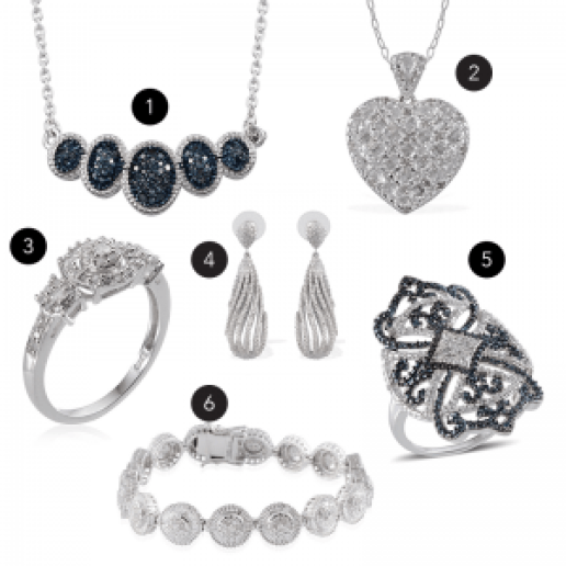 April birthstone jewelry gifts.