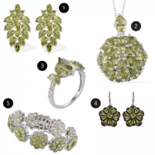 August birthstone jewelry gifts.